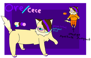 Ore/Cece Reference Sheet (UPDATED) by BananaRamaDraws
