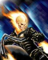 ghost rider paint by D-Stone