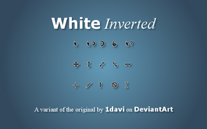White Inverted (original by 1davi) by elEscobar