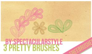 3 free brushes by spectacularstyle