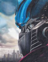 Optimus Prime by xXBumbleBee25Xx