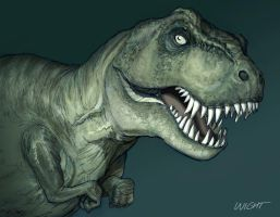 T-Rex by joewight
