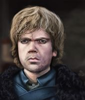 Tyrion Lannister by KieranMorris