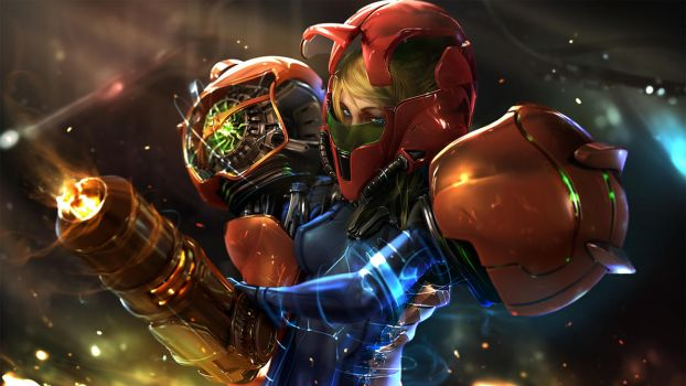 Samus Tribute by Wen-JR