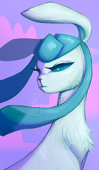 Glaceon by yhsreh