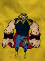 the ironic justice-Thor by Abrildeadoces