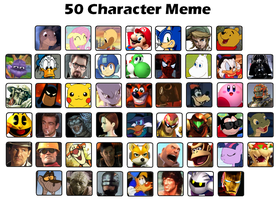 My 50 Favorite Characters by MarioGuy3
