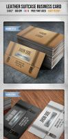 Leather Briefcase Business Card by kotulsky