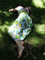Peasant Girl Stock I by kndrwllmsn