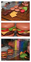 Cheeseburgers: The making of by bettenoir87