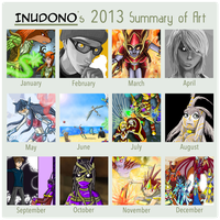 Art Summary 2013 by Inudono19