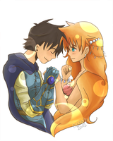 PKMN:: Fairytale Lovers by OCibiSuke
