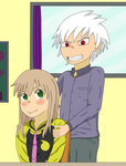 You're so great, Maka by BennyToursProd