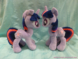 I don't remember having a twin - Twilight Plush by Wolflessnight
