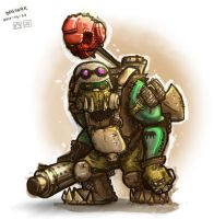 Ork, style 02 by Sebbythefreak