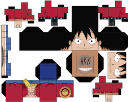 Luffy Timeskip by hollowkingking