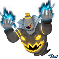 Dusknoir: Will-o-Wisp by Xous54