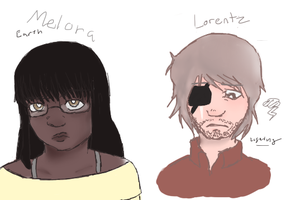 Melora and Lorentz by CircuitsandWires