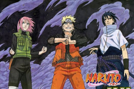 Naruto Team 7 Poster by weissdrum