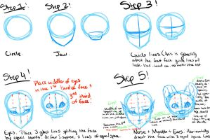 Front view tutorial by Kanji-or-Koi