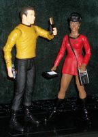 Kirk And Uhura 2 by 80sUnleashed