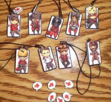 TF2 Cell Charms by betrayal-and-wisdom