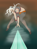Air Bender: OC request: Aura by RisenEternalFlame