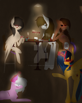 Girl's night out by TheLILCrazyMoney