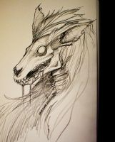 Skullcreature by Draakh