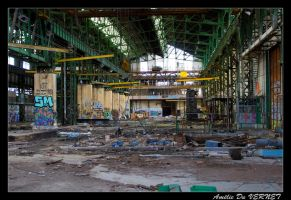 Boat Factory by adurbex