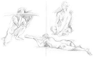 Life drawing 08 by theLastSamu