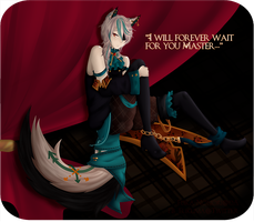 I will forever wait for you Master by Fukamachi-kun