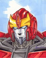 rodimus sketch by markerguru