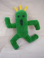 cactuar plush 2 by cloudstrife597