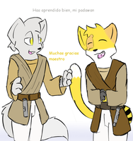 Gift para sir Katx-fish  = El Padawan = by stial08