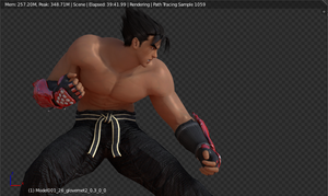 :: JIN RENDER W.I.P. :: by VincentXyooj