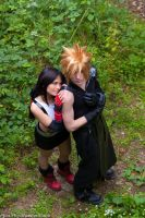 Tifa and Cloud FFVII by Eyes-0n-Me