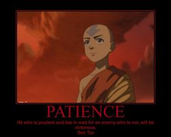 Patience Motivational Poster by fifthknown