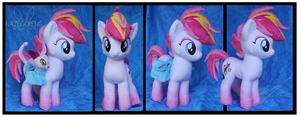 Commission: Zowie Stardust OC Custom Plush by Nazegoreng