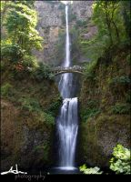 multnomah falls full by NWunseen