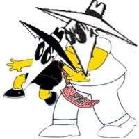 The Simpsons and Spy vs Spy combined by Sonic12Lexi