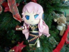 Luka in christmas tree by GrayAoi