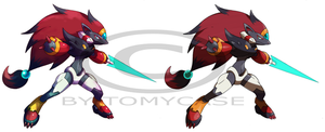 Commission : Zoroark Zero by Tomycase