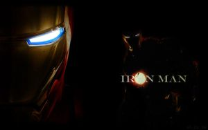 Iron Man Wallpaper by xSilverwingx