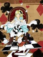 Alice in wonderland by Celestyal