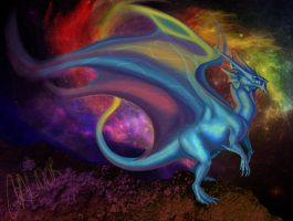 Lost in the cosmos by Galidor-Dragon