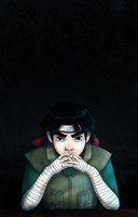 Rock Lee is Serious by Shoubu-desu