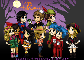 Marked :: Happy Halloween by sasukee23loveeer