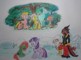 Friendship is Showtime: Death of the Family by FerGarcia220