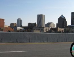 Rochester from 490E by musicsuperspaz
